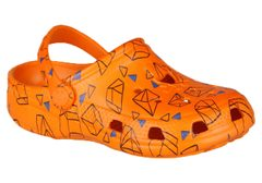 Coqui Big Frog 8115 Dk. orange geometric