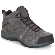 Columbia Canyon Point Mid Leather Omni-Tech dark grey, madder brown 1831541089