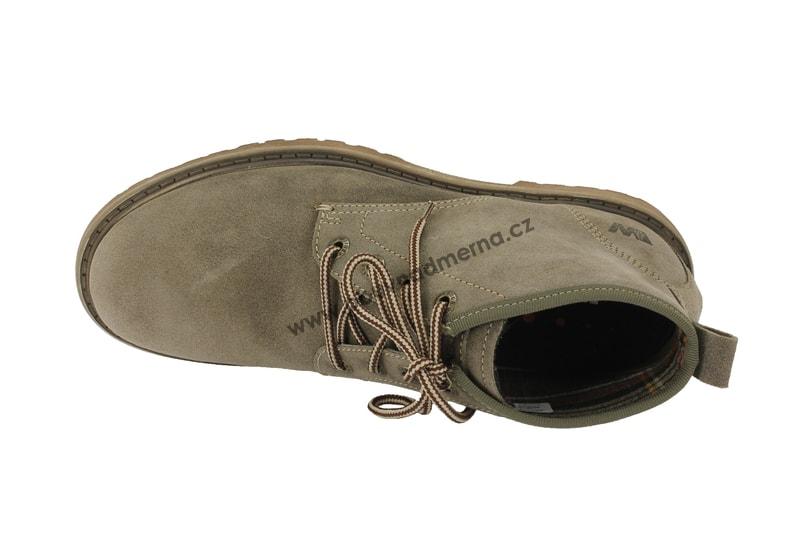 9ffd92925a Kotníkové boty Weinbrenner šedé - Kotníkové