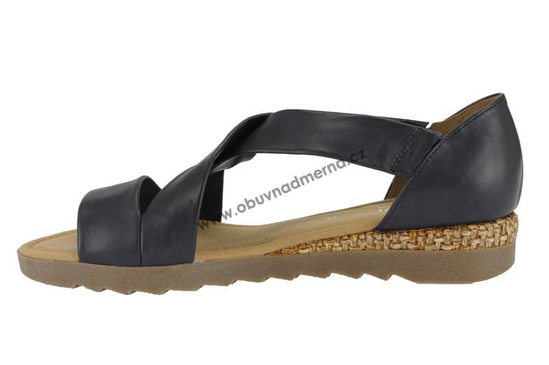 4326df32bd28 Nadměrné sandály Gabor navy 82.711.85 - Sandály