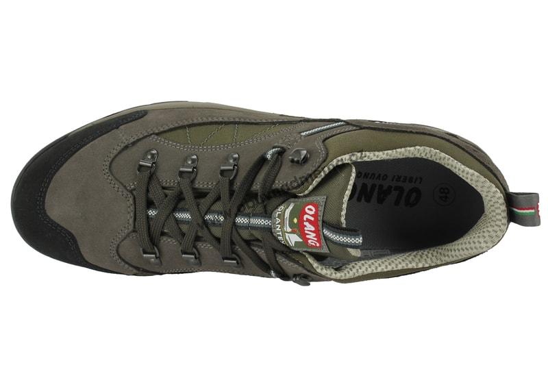 ce9a609691 Nadměrné trekové boty Olang Pieve.TEX - 810 safari - Sportovní ...