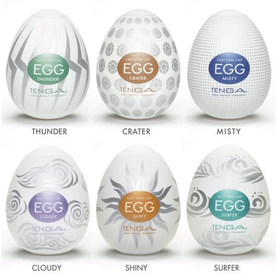 Tenga Eggs mix new