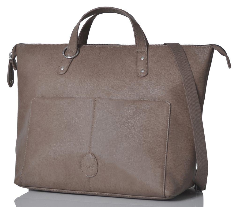 SAUNTON latte - přebalovací taška i batoh
