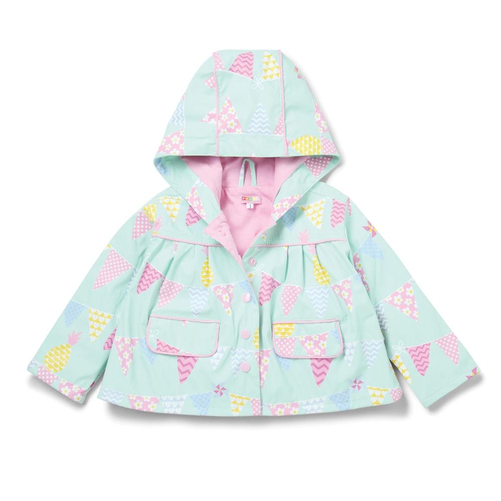 Dětská nepromokavá bunda - ananas - 6