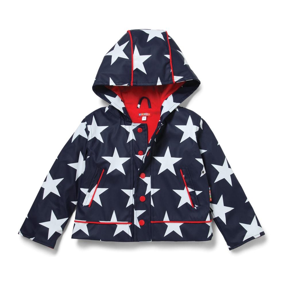 Dětská nepromokavá bunda - hvězdy - 6