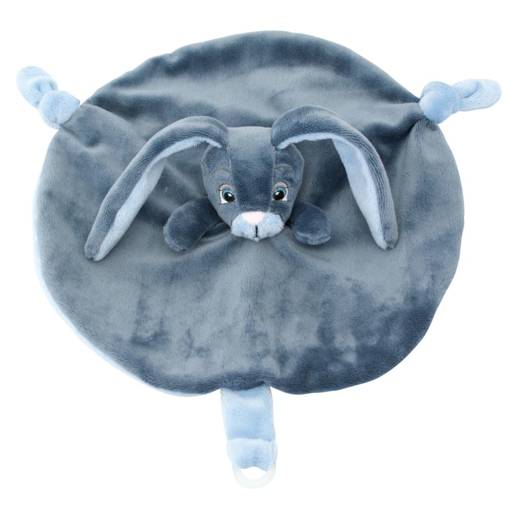 Můj zajíček muchláček - modrý