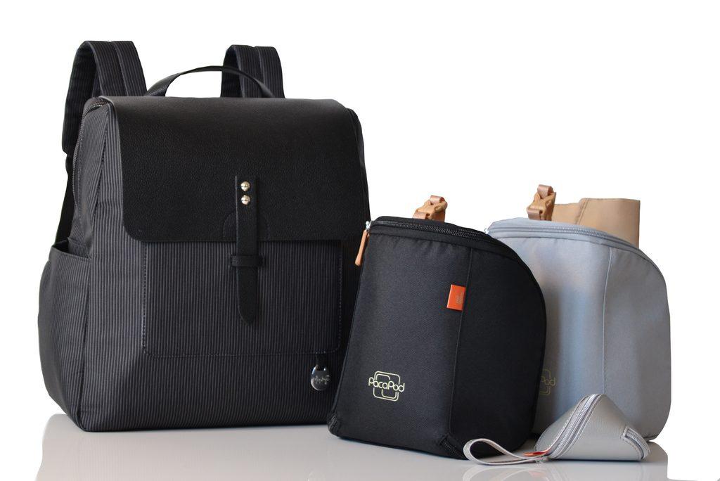 HASTINGS PACK černý - přebalovací batoh