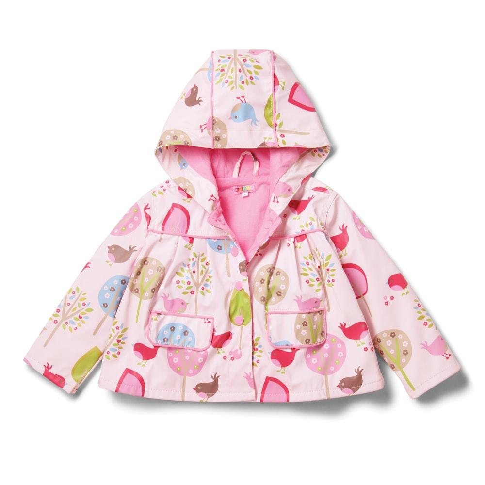 Dětská nepromokavá bunda - ptáčci - 1