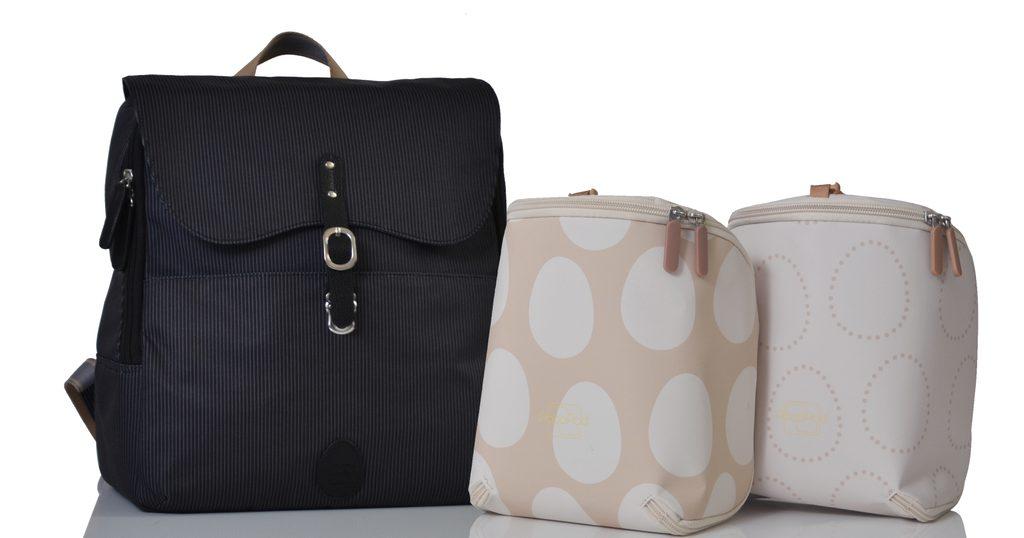 HASTINGS černý - přebalovací batoh