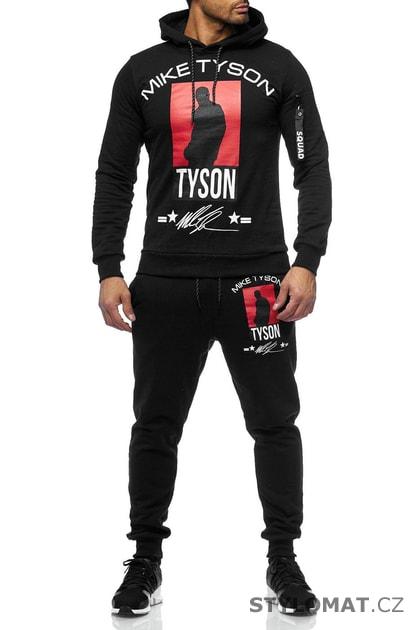 e05a12c04675 Pánská tepláková souprava Mike černá - Redox - Sportovní oblečení
