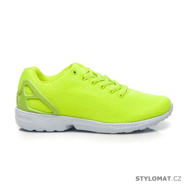 1b7f093ad8 Sportovní boty neonově zelené - HAKER - Tenisky
