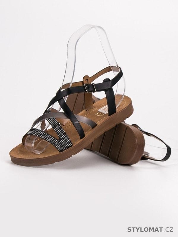 bcc579f09753 Casual sandály černé - Filippo - Sandále