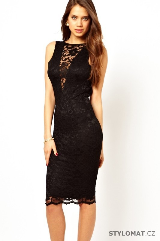 4093990c00ef Večerní šaty krajkové šaty - Damson - Dlouhé společenské šaty