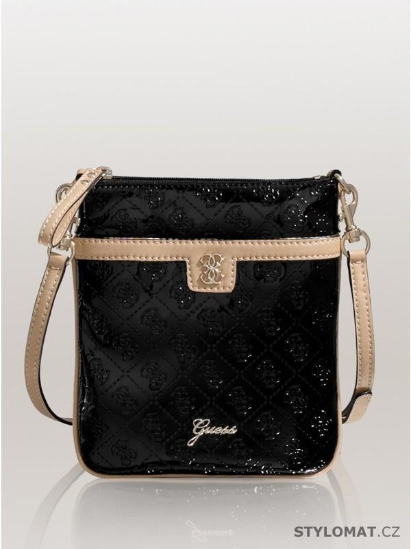 1cb111fc4994 Luxusní dámská černá kabelka GUESS Reiko Mini Cross-Body - Guess - Dámské  kabelky a tašky