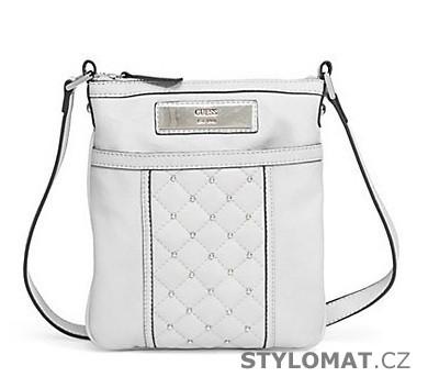 6d3374aa9d Luxusní bílá kabelka GUESS Maella Quilted Cross-Body - Guess - Dámské  kabelky a tašky