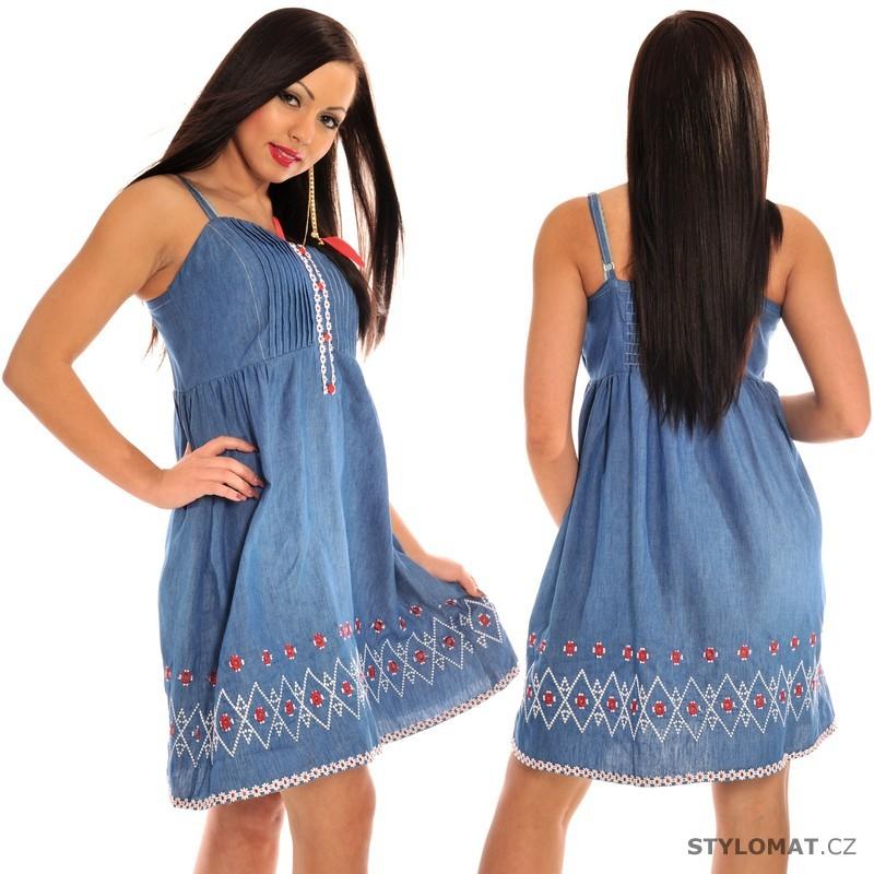 c2135d0b66e4 Džínové šaty - Fashion - Krátké letní šaty