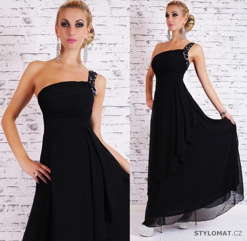 8c08e9f704dc Dámské dlouhé plesové šaty - černé - EU - Dlouhé společenské šaty