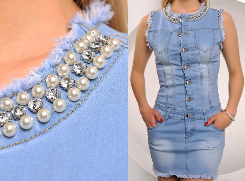 cc8b3ca605be ... Krátké letní šaty    Jeansové šaty. Previous  Next