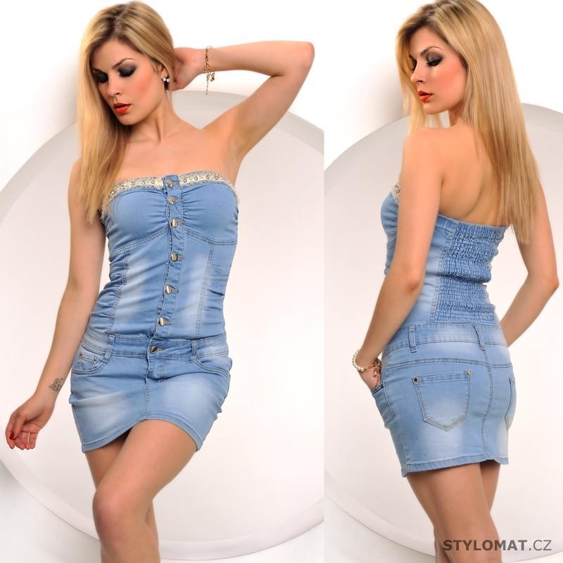 42e00d3f4e24 Jeansové šaty - Fashion - Krátké letní šaty