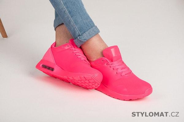42d006d94f Neonově růžové tenisky - Queen Bee - Tenisky