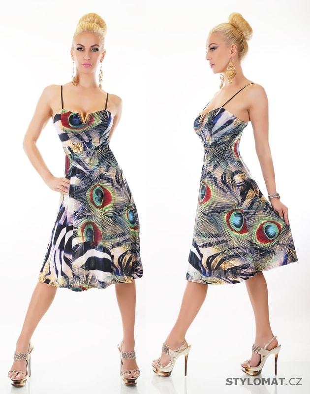 06c7785617af Letní krátké šaty na ramínka - EU - Party a koktejlové šaty