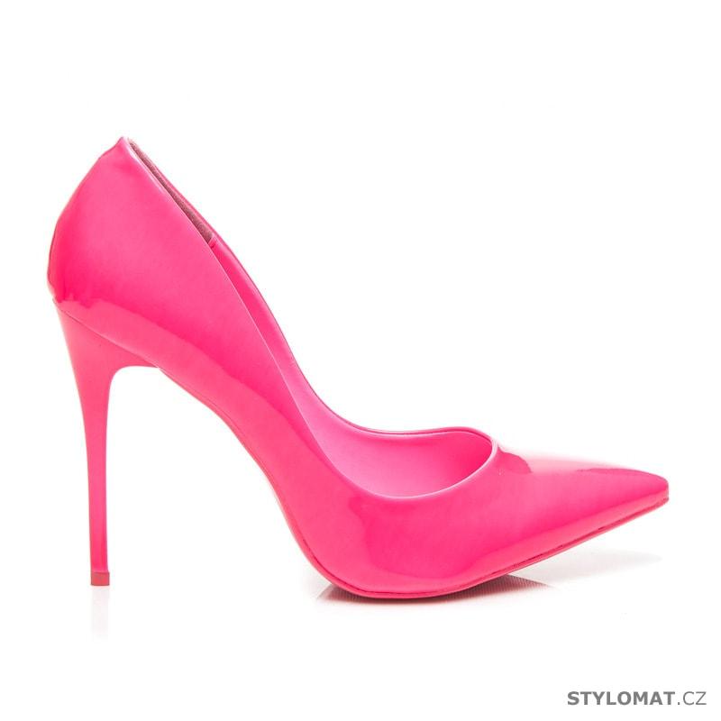 d0d5619963 Dámské elegantní lodičky bianca růžové - Yes Mile - Lodičky