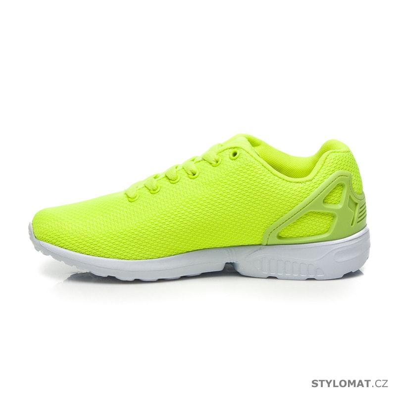 46d65cc2a9 ... Tenisky    Sportovní boty neonově zelené. Previous  Next