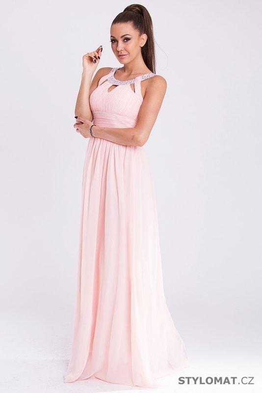 b069c37b47ec Eva a Lola šaty růžové - Eva Lola - Dlouhé společenské šaty
