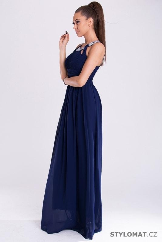 32b172e3c91d Eva a Lola šaty modré - Eva Lola - Dlouhé společenské šaty