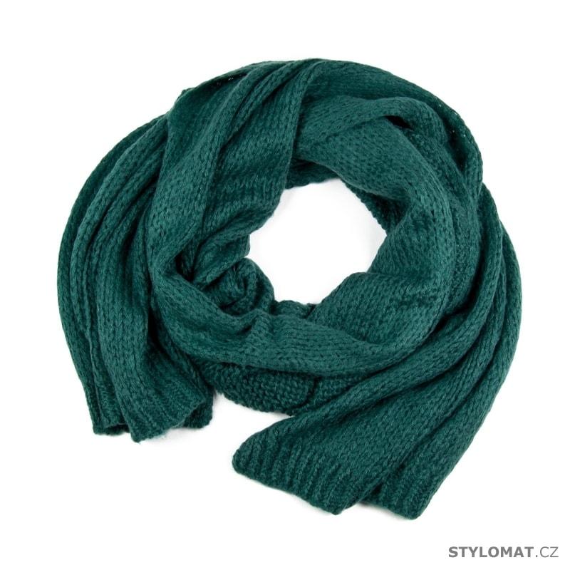 808052029 Mohérový šál zelený - Art of Polo - Dámské zimní šály