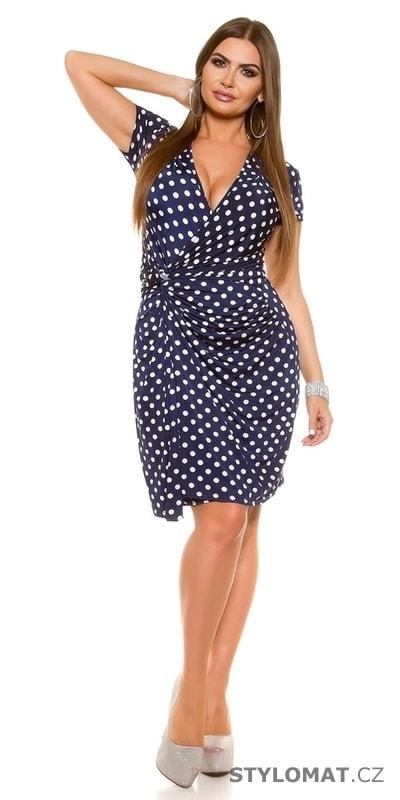 81ea79d5bc4c Šaty pro plnoštíhlé - Koucla - Krátké letní šaty