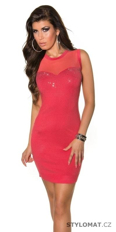 9870379d0 Dámské úpletové mini šaty - Koucla - Úpletové šaty