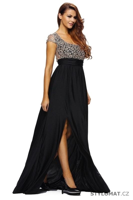 a21c51b5c950 Dlouhé plesové šaty - Damson - Dlouhé společenské šaty