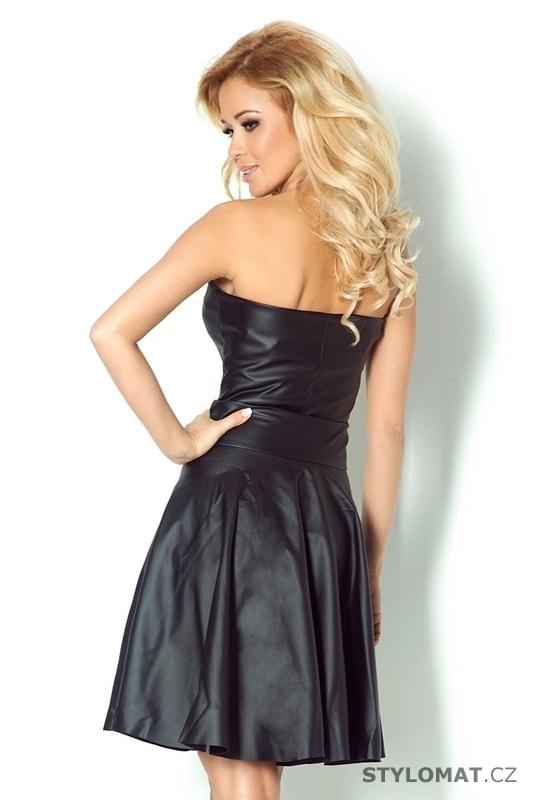 3a375a9a619d Černé korzetové šaty s nabíranou sukní. Zvětšit. Previous  Next
