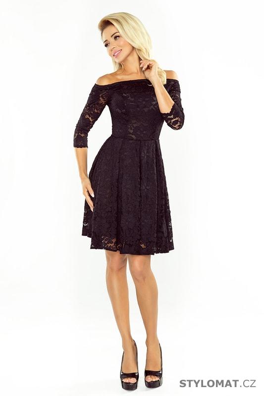 b498b4ba264b Šaty s holými rameny a černou krajkou. Zvětšit. Previous  Next