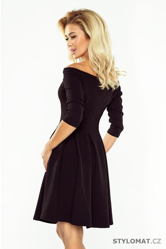1d7174e06bbf ... Krátké společenské šaty    Šaty s holými rameny v černé barvě.  Previous  Next