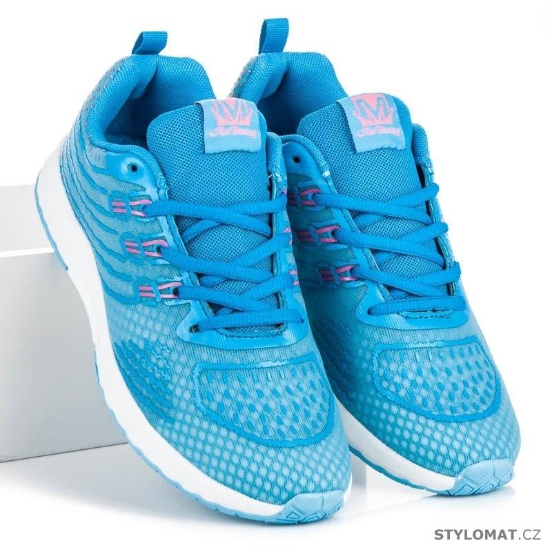 1974918f8d69a Běžecké dámské boty modré - AX Boxing - Tenisky