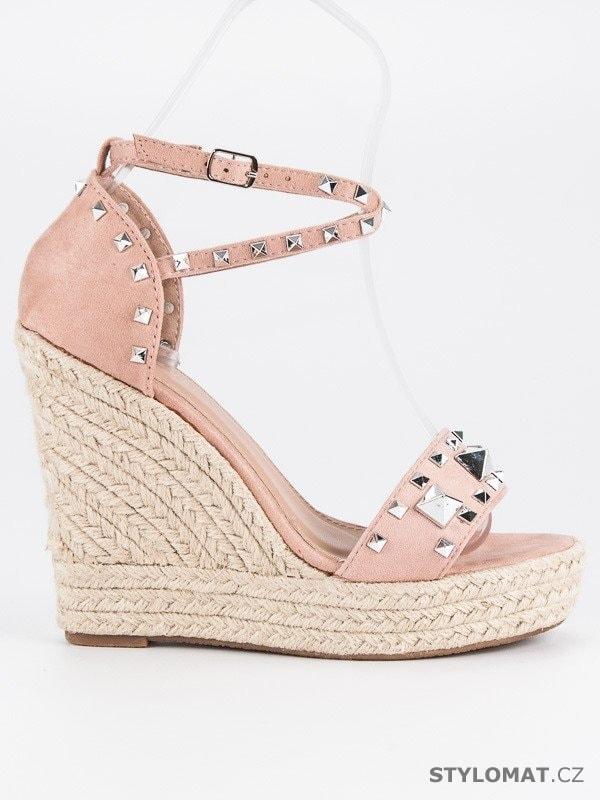 524ae2a03b61 Rockové sandály espadrilky - BESTELLE - Sandále
