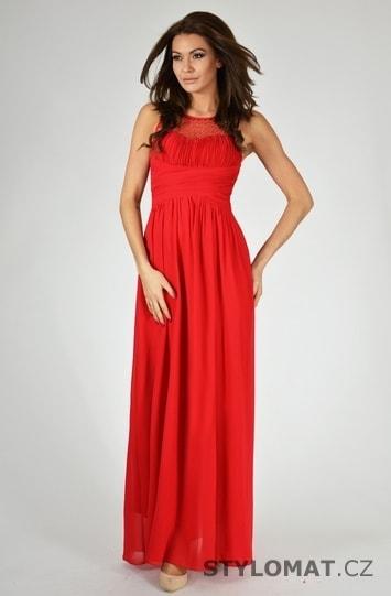 44734f26198c Dámské šaty - červené - Eva Lola - Dlouhé společenské šaty