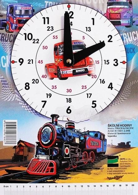 7e516b6d0 EMIPO SHOP - Školní hodiny Truck - Pacific - Školní hodiny - Doplňky, Pro  žáky