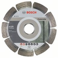 Dia kotouč Standard for Concrete 125 x 22,23 x 1,6 mm, 1ks