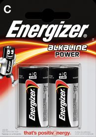 Baterie alkaline Power LR14 C 2 ks