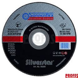 19016  Silvestar ocel 125x1,6x22,23 mm AS60RBF