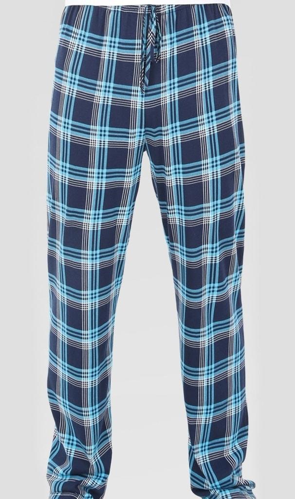75d53571e4b1 Pánské pyžamové kalhoty GAZZAZ Kryštof - tyrkysová