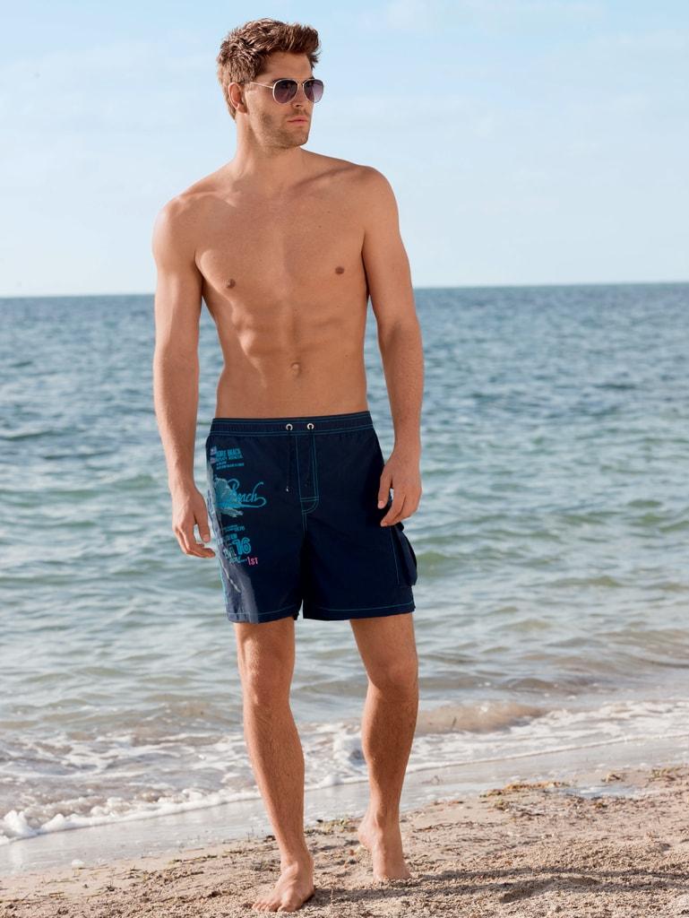 7110d73cc Pánské volné plavky JOCKEY Miami 67807 tmavě modré | šortky a delší ...