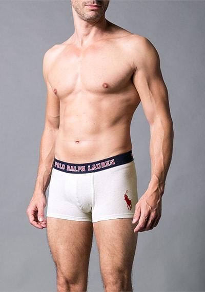 Pánské boxerky POLO RALPH LAUREN cream melange - M
