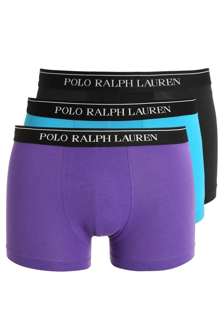 Pánské boxerky POLO RALPH LAUREN 3pack černá/modrá/fialová - M