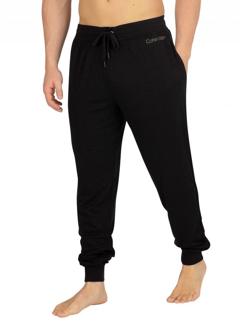 7c3e17ab3 Pánské kalhoty CALVIN KLEIN Cotton modal lounge NM1540E černé ...