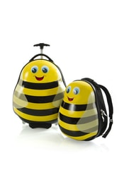 Heys Travel Tots Lightweight Kids Bumble Bee – sada batohu a kufru