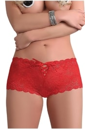 30% boxerky Farida red